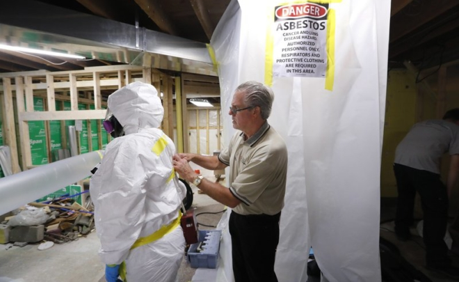 Healthy Homes featured in Associated Press chemical review of Asbestos